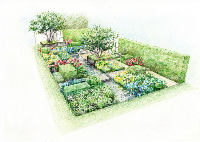 banner-Preliminary-sketch-of-The-Telegraph-Garden---Marcus-Barnett