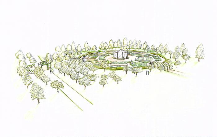 banner-Hyde-Hall-Global-Growth-Veg-Garden---illustration