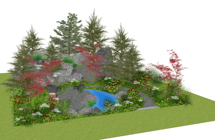 Flavour Of American Gardens For Rhs Hampton Court