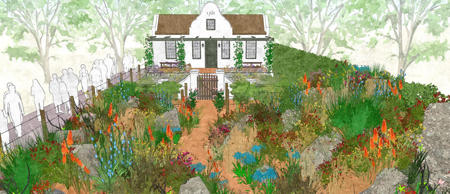 Trailfinders Garden To Celebrate Winelands Of Western Cape