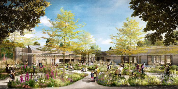 New learning gardens revealed for RHS Wisley